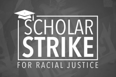 Scholar Strike for Racial Justice logo