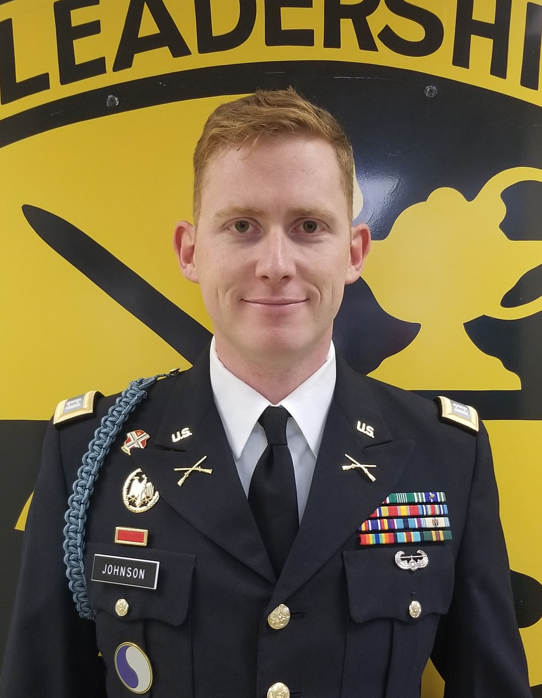 CPT Johnson, Asst. Professor of Military Science, Military Science IV