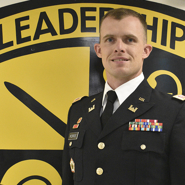 CPT McBride, Asst. Professor of Military Science, Military Science III, BN Operations Officer