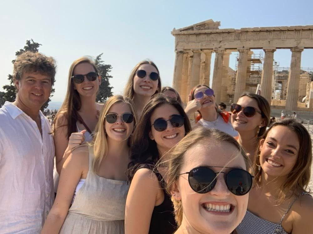 At the Acropolis, Athens, Fall 2019