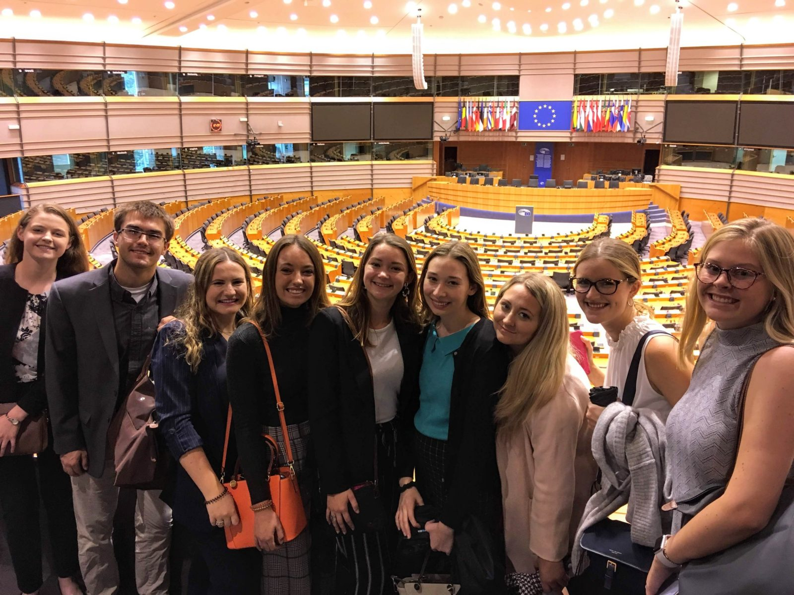 European Parliament, Brussels, Fall 2019