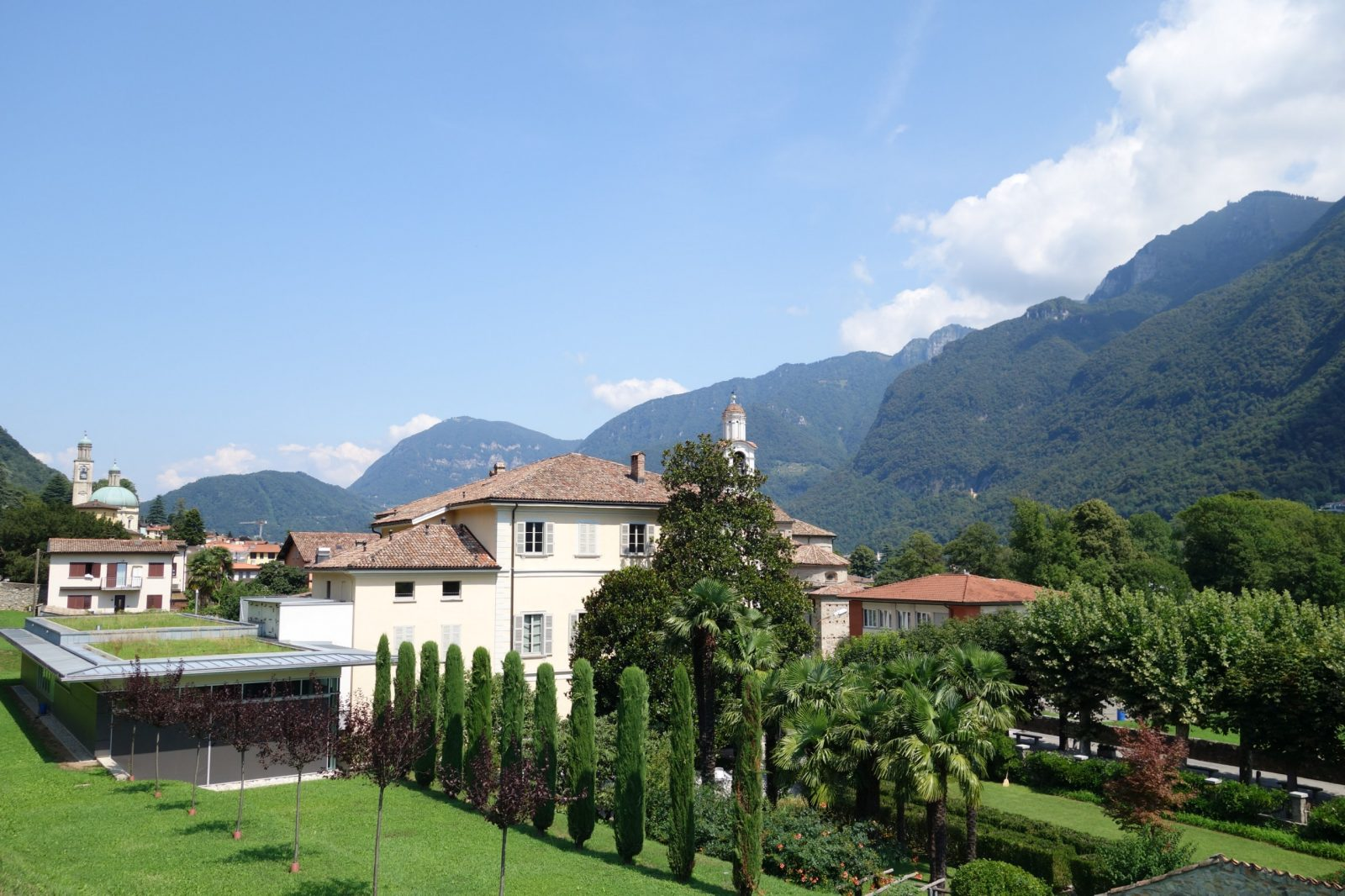 Steger Center, Riva San Vitale, Canton Ticino, Switzerland