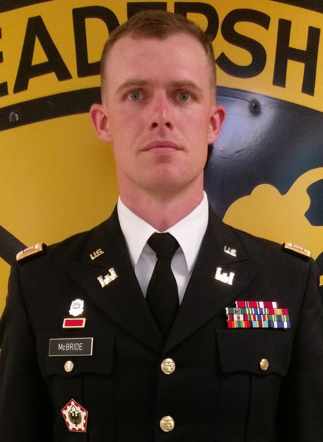 CPT McBride, Asst. Professor of Military Science, Military Science III, BN Supply Officer