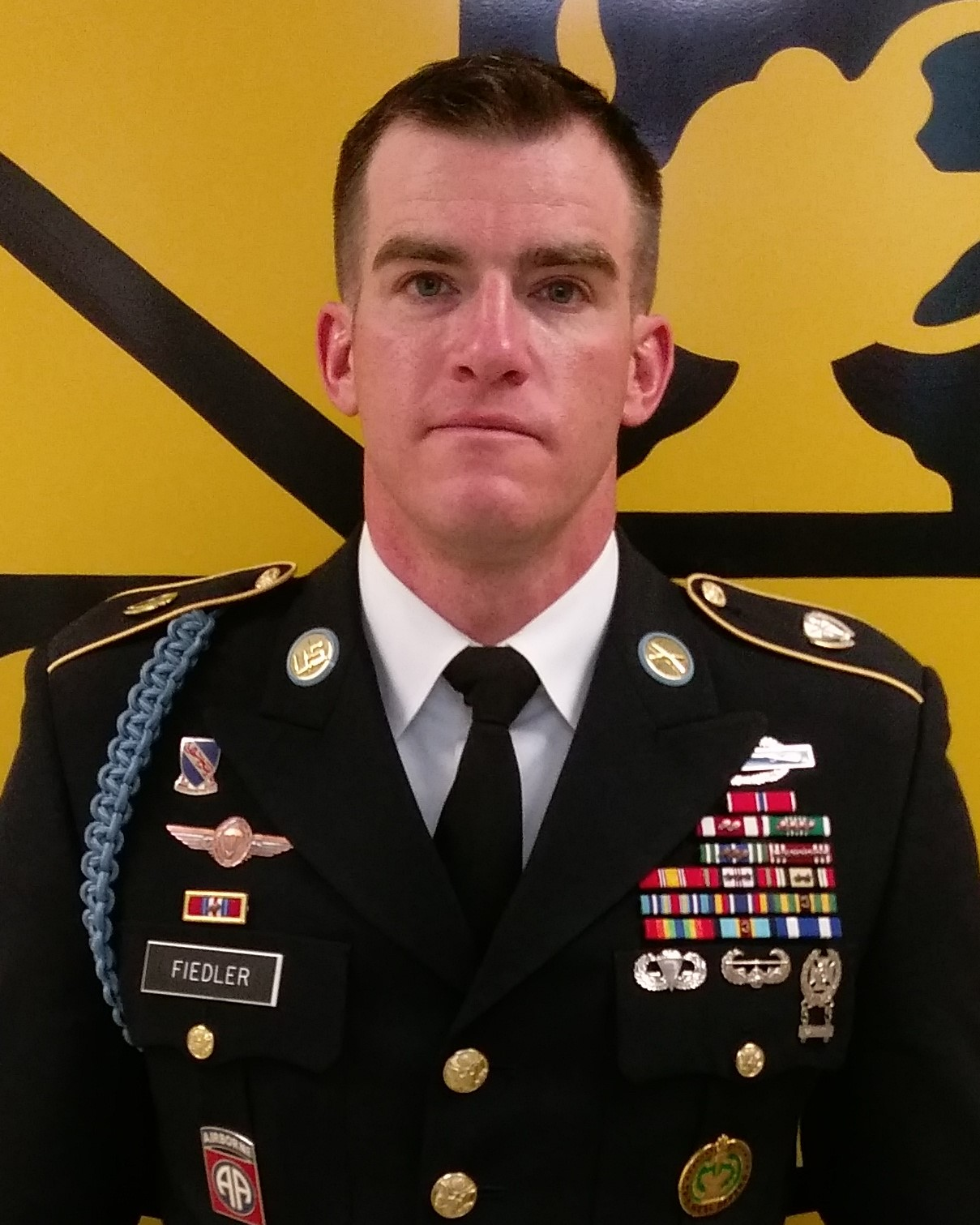 SFC Fiedler, Military Science Instructor, Military Science II