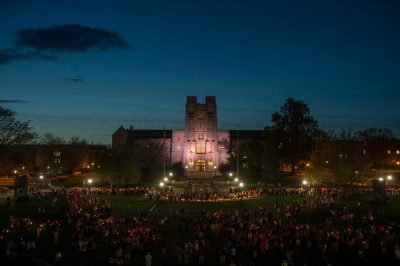 Virginia Tech's Day of Remembrance — the annual commemoration of the April 16, 2007 tragedy — gathered a mournful crowd in 2017.