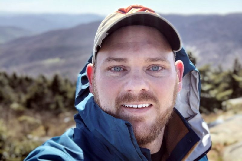 Since COVID-19 prevented an in-person graduation ceremony in May 2020, M. Evan Thomas decided to hike on the Appalachian Trail instead; his hike is captured here.