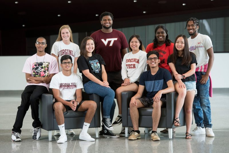 The inaugural ten Clark Scholars