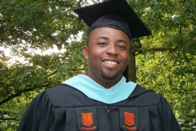 Mario Calixte earned his master's degree from the Virginia Tech School of Education in 2012.