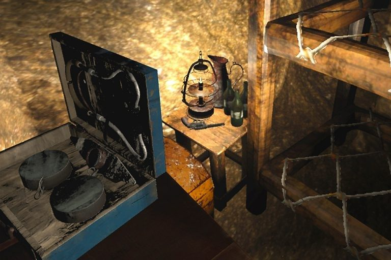 The Vauquois Experience Exhibit provides both a virtual and physical tour of historic World War I tunnels.