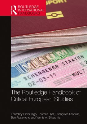 Book cover for The Routledge Handbook of Critical European Studies.