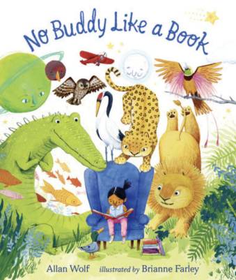Book cover for No Buddy Like a Book