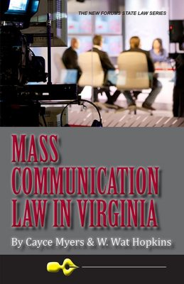 MASS COMMUNICATION LAW IN VIRGINIA