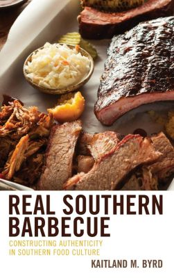 Book cover of Real Southern Barbeque