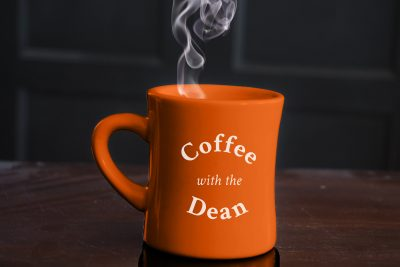 Coffee with the Dean cup