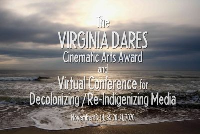 Virginia Dares Cinematic Arts Award and Virtual Conference