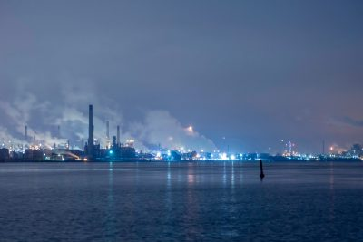 Sarnia, a city in southwestern Ontario, is the largest city on Lake Huron. Its complex of refining and chemical companies is known as Chemical Valley.