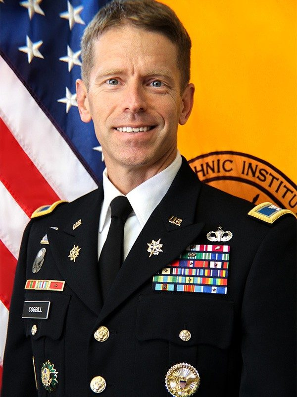 COL Mele, Commanding Officer of Virginia Tech's Army ROTC