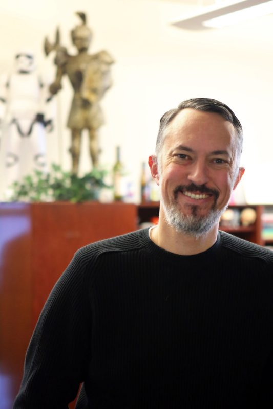 Matthew Gabriele., Professor and Chair of the Department of Religion and Culture