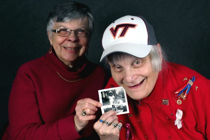 Family members participate in the Virginia Tech Adult Day Services