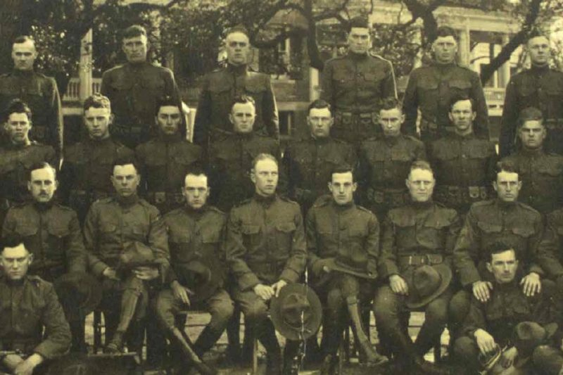Battery F. 60th Regiment Coast Artillery, Fortress Monroe, Virginia, March 1918