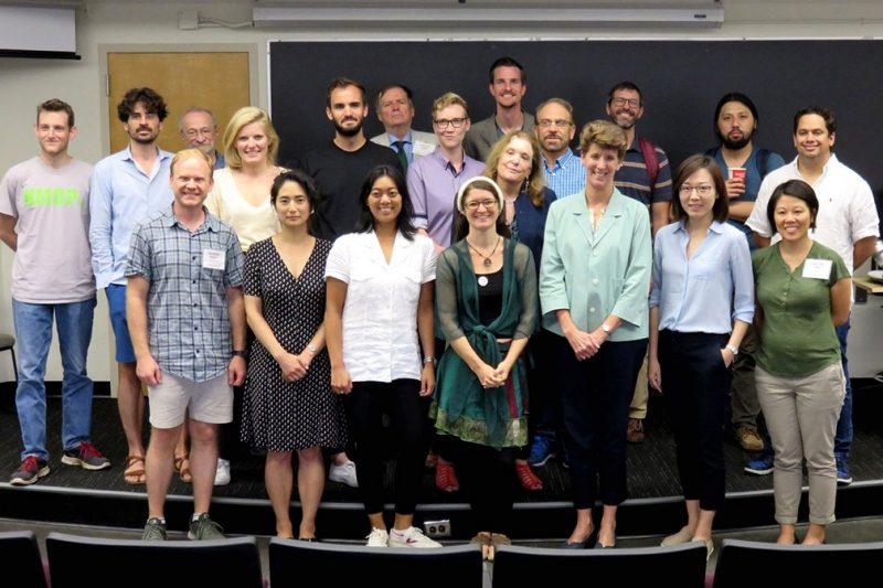 Participants from the Virginia Tech Summer Seminar in Philosophy of Statistics included Dean Sally C. Morton (third from the right in the first row). Deborah Mayo and Aris Spanos appear to the left behind her.