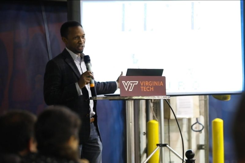 Tech on Tap event featured speaker Sylvester Johnson