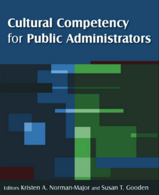 Book cover of Cultural Competency for Public Administrators