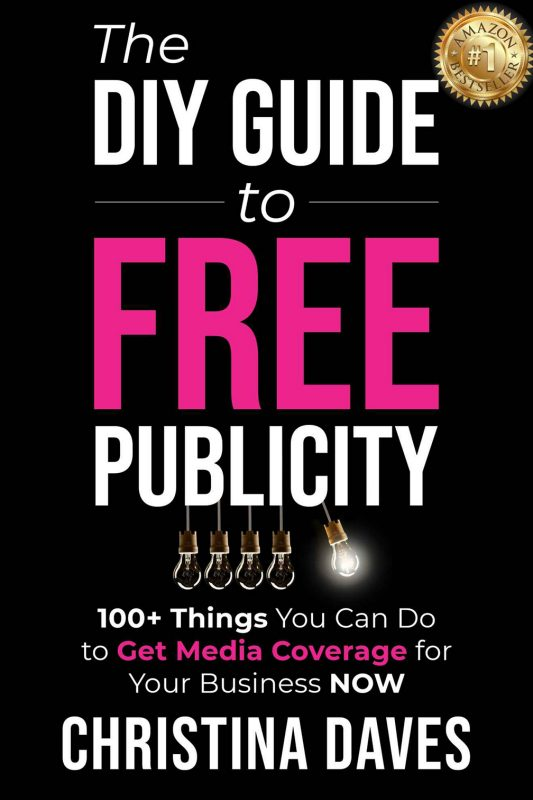 Book Cover for The DIY Guide to Free Publicity