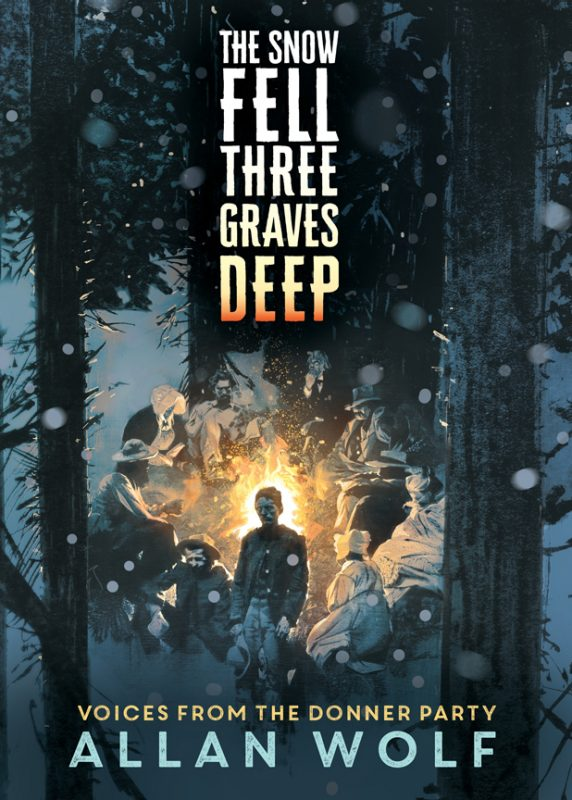 Book cover for The Snow Fell Three Graves Deep