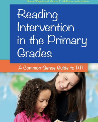 Book cover of Reading Intervention in the Primary Grades