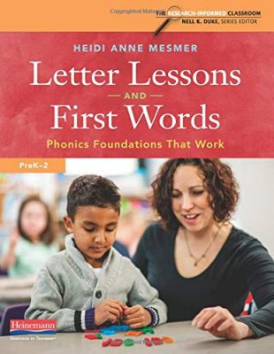 Letter Lessons and First Words book cover