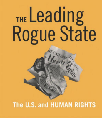 Book cover for The Leading Rogue State book co-authored by Virginia Tech professor David Brunsma