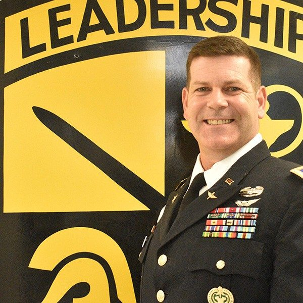 LTC Volpe, Executive Officer and Military Science IV Instructor
