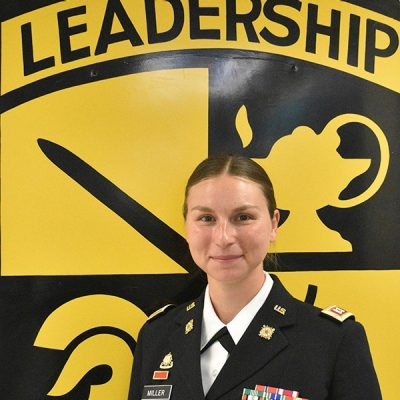 CPT Miller, Asst. Professor of Military Science, Military Science III, BN Supply Officer/S-4