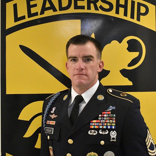 SFC Unterseher, Military Science Instructor, Military Science III